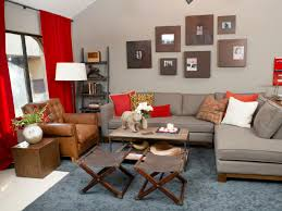 Gray And Yellow Living Room Red And Gray Living Room Home Decorating Interior Design Bath