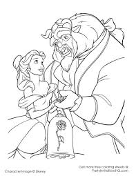 best beauty and the beast coloring pages 25 about remodel coloring
