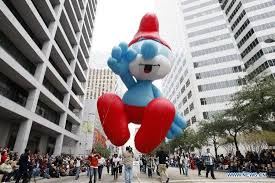 thanksgiving parade rolls through u s city of houston world