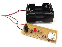 Build A Charging Station Portable Usb Charger Circuit Build Electronic Circuits