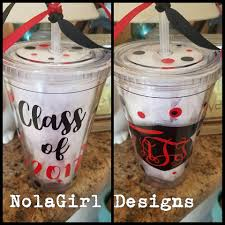 college graduation gift for graduation gift class of 2017 monogrammed tumbler gift for