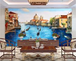 popular venice wall mural buy cheap venice wall mural lots from custom mural 3d wallpaper 3d european water city venice room home decor painting 3d wall murals