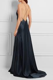 Myer Basement Dresses Calvin Klein Collection Silk Satin Gown Net A Porter Com Open