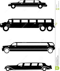 black hummer limousine limousine stock vector image 50903848