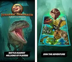 carnivores dinosaur apk jurassic dinosaur ark of carnivores dino tcg ccg apk