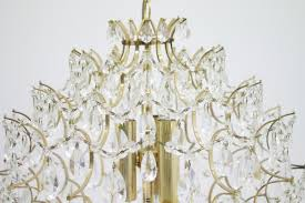 Vintage Glass Chandelier Vintage Glass Chandelier 1980s For Sale At Pamono
