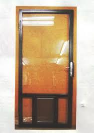 storm door window replacement 7 charming designs and models for your storm door with pet door