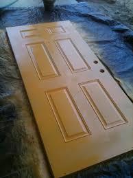 spray paint the front door no 2 pencil