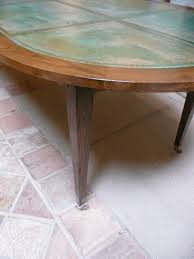 Hammered Copper Dining Table Unusual Louis Xvi Style Oval Dining Table With Copper Top