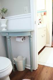 small storage table for bathroom ingenious ways to make your home more awesome half table small