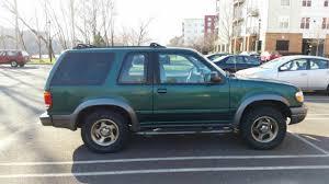 1999 ford explorer 4 door used explorer 2 door green some scratches and dings