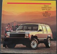 jeep cherokee chief xj jeep cherokee pioneer chief laredo wagoneer original dealer sales