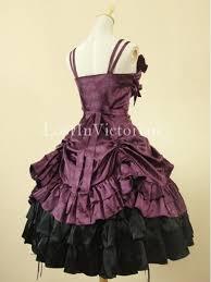 purple victorian dress prom tea party dress