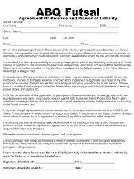 abq futsal waiver form pdf pdf archive