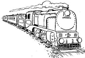 Steam Locomotive Coloring Pages Long Steam Train Coloring Page Netart by Steam Locomotive Coloring Pages