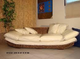 divanetti in vimini da esterno dal pozzo dal pozzo andrea arredamento divani rattan giunco