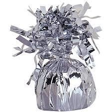 balloon weights foil balloon weight silver 1ct walmart