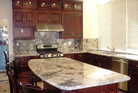 Kitchen Island Granite Countertop Kitchen Island Granite Top With Granite Countertops And Backsplash