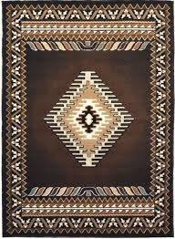 Indian Area Rug Southwest American Indian Area Rug Design R4l 143 Chocolate