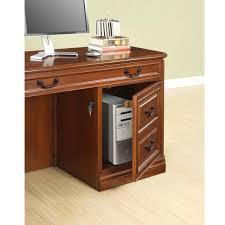 whalen furniture golden oak augusta double pedestal l shaped