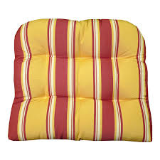 Replacement Patio Cushions Amazon Com Patio Chair Cushion Baystreet Citrus Fade