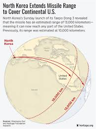 Likely Syrian Missile Targets In Google by North Korea U0027s Missile Launch Shows It Could Target Us Homeland