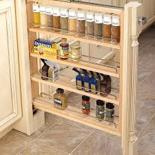 Rubbermaid Spice Rack Pull Down Kitchen In Cabinet Spice Rack Spice Rack Shelves Pull Out