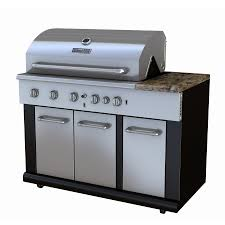 Backyard Grill 2 Burner Gas Grill by Master Forge 4 Burner Outdoor Modular Kitchen Gas Grill Lowe U0027s