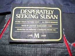 Seeking Jacket Desperately Seeking Susan Jacket Collectors Weekly
