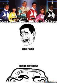 Black Power Ranger Meme - rmx power ranger racist by mylilbigtoe meme center