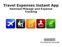 Travel Expenses images Travel expenses itemized mileage and expense tracking jpg