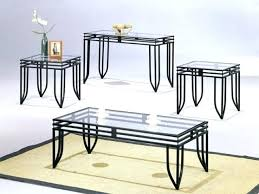 glass top tables with metal base black glass end table glass top coffee table with iron base end