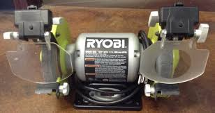 Ryobi Bench Grinder Price Ryobi Bg612g Heavy Duty 2 1 Amp 6 In Bench Grinder With Led