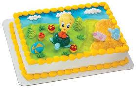 amazon tweety turtle baby looney tunes cake topper
