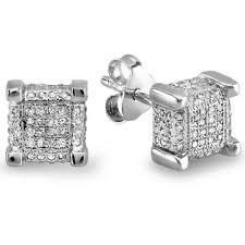 men diamond earrings best diamond men earrings photos 2017 blue maize
