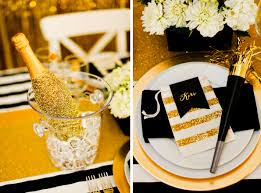 New Years Eve Black And White Decorations by Gold And Black New Year U0027s Eve Party Evite