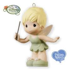 tinker bell precious moments 2010 hallmark ornament