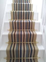 Painted Stairs Design Ideas Decorating Stair Runners With Plain Cream Stair Carpet For Cool