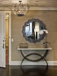 Entry Table Ls How To Frame A Mirror Keller Williams Chandeliers And