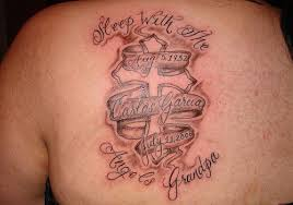 rip grandma tattoo quotes skull tattoo guy rick
