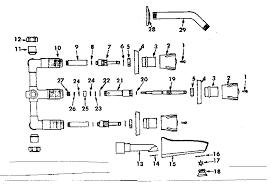 parts of a bathtub faucet sears sears bath tub faucet parts model 33020981 sears partsdirect