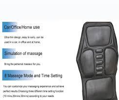 si e massant voiture chauffée du dos siège topper voiture home office siège la
