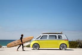 volkswagen u0027s futuristic electric campervan is going into production