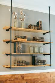 image result for shelves from galvanized plumbing pipe craft