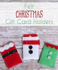 xmas gift felt character christmas gift card holders diycandy com