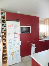 Plan Cuisine Ilot Central by Cuisine Rouge Plan De Travail Inspirations Avec Ilot Central