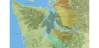 Seattle County Map by Central Puget Sound Regional Open Space Strategy 2016 Asla