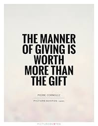 gift giving quotes animehana