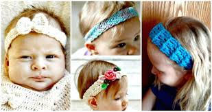 crochet headbands crochet headbands for babies 28 free patterns diy crafts