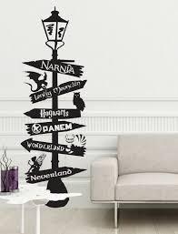 fandom lamp sign post fairy tales geek books nursery rhymes